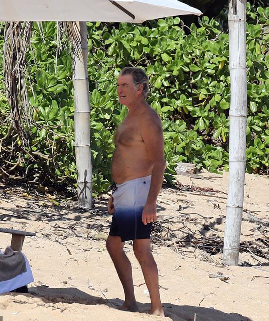 Pierce từng là một trong những người đàn ông quyến rũ nhất thế giới và đốn tim hàng triệu fan nữ khi thủ vai James Bond trong loạt phim Điệp viên 007 suốt thập niên 1990, đầu 2000.