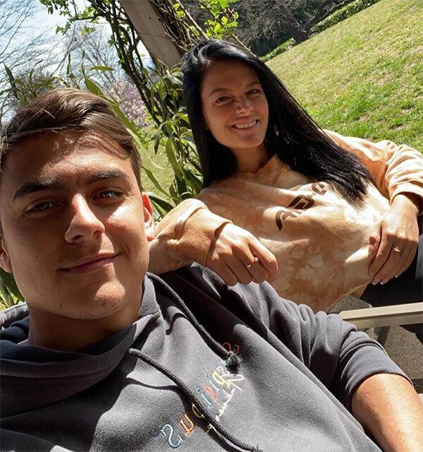 Dybala và bạn gái vừa nhận kết quả dương tính với nCoV. Ảnh