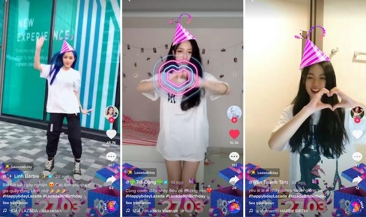 Các bạn trẻ hưởng ứng điệu nhảy đáng yêu, hóm hỉnh bằng nhiều phiên bản khác nhau trên mạng xã hội Youtube, Facebook và Tik Tok.