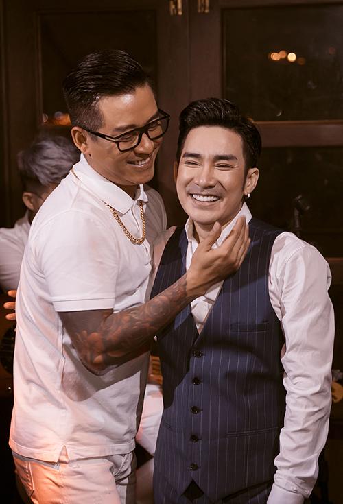 Tuấn Hưng và Quang Hà đã có 20 năm làm bạn bè thân thiết.