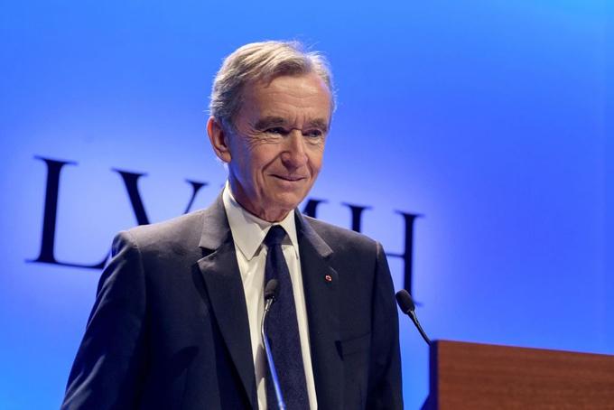 Bernard Arnault, Chủ tịch kiêm CEO LVMH. Ảnh: AP.