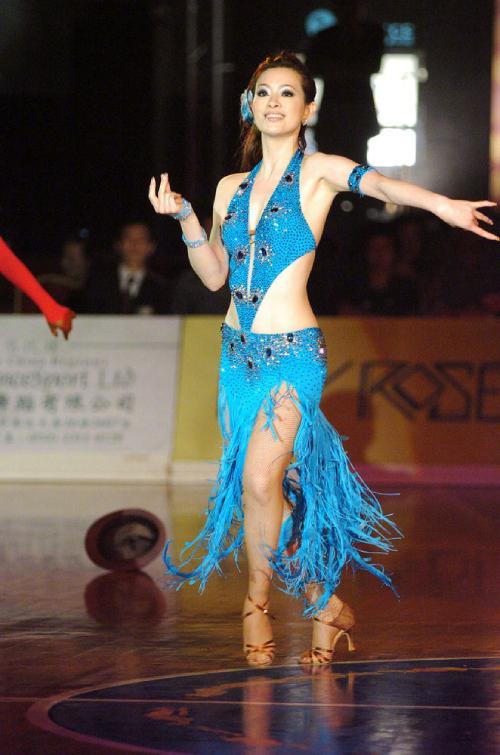 Lưu Chân nổi tiếng với những bước nhảy điêu luyện nên từng được gọi là nữ hoàng khiêu vũ.