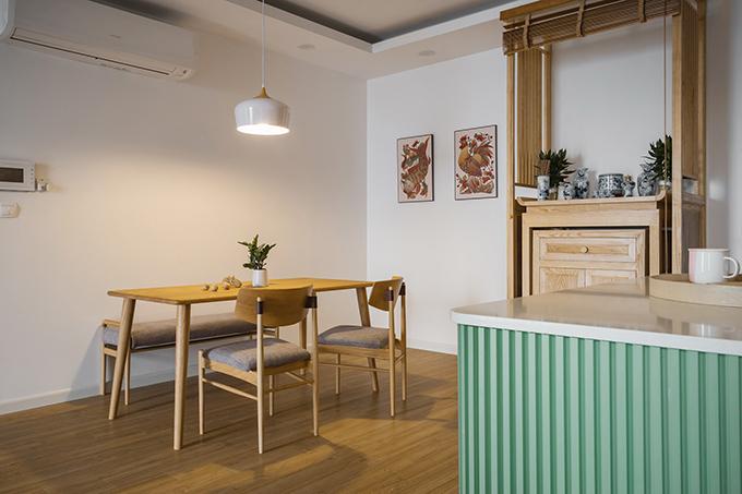 Cách ứng dụng màu sắc pastel cùng nội thất nhã nhặn giúp không gian sống mang phong cách nhẹ nhàng.