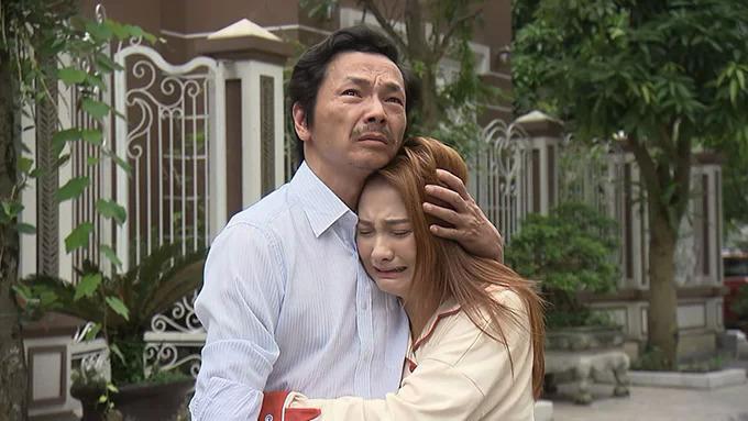 NSND Trung Anh trong phim Về nhà đi con