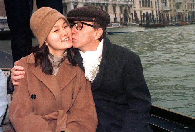 Đạo diễn Woody Allen và Soon-Yi Previn. Ảnh: Worldnews.