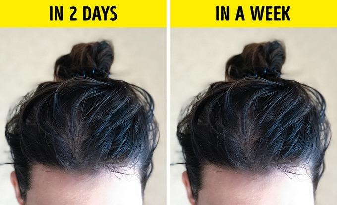 7 lý do làm tóc nhanh bết và cách khắc phục