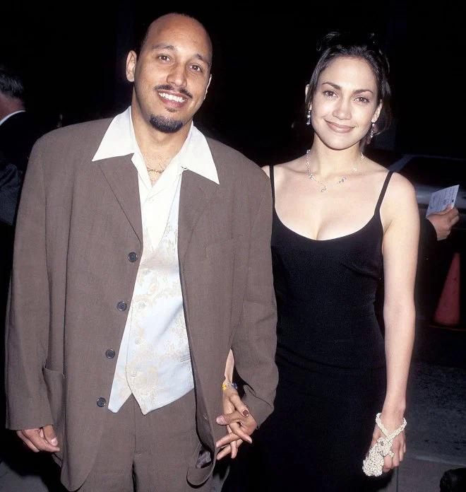 Jennifer Lopez và David Cruz thời còn bên nhau. Ảnh: Ron Galella, Ltd.