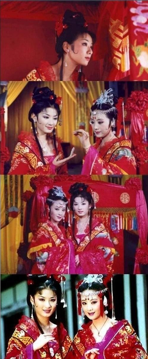 Một số hình ảnh của hai nữ chính Huỳnh Dịch và Lý Giai Lân.