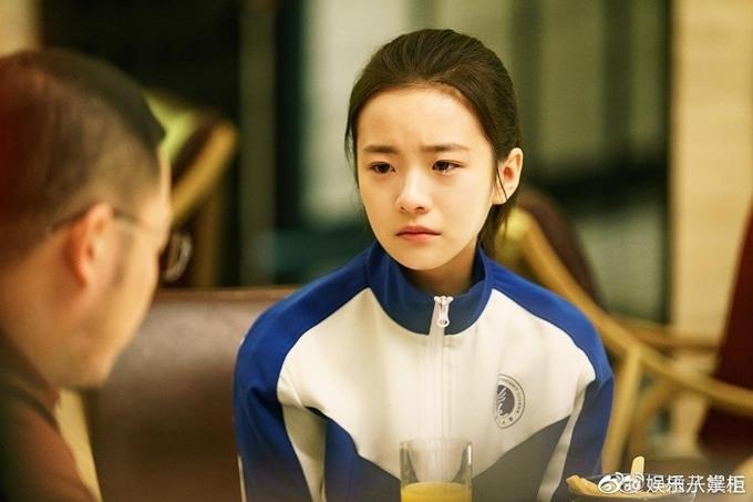 Nữ diễn viên Lưu Canh Hy.