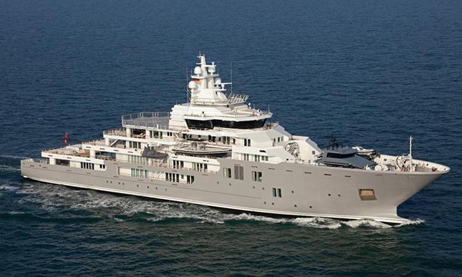 giới siêu giàu sẵn sàng chi hàng triệu USD để thuê du thuyền nhằm cách ly với nguồn bệnh ở đất liền. Ảnh: Yacht Harbour.