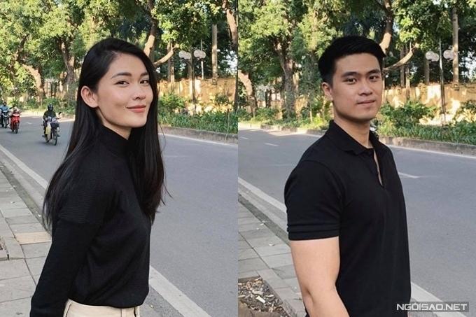 Hình ảnh hiếm hoi của Thùy Dung và bạn trai.