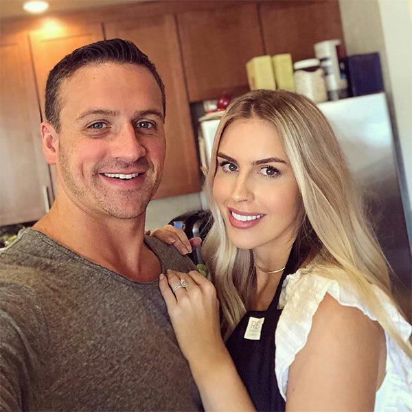Kình ngư Ryan Lochte và người đẹp Kayla.