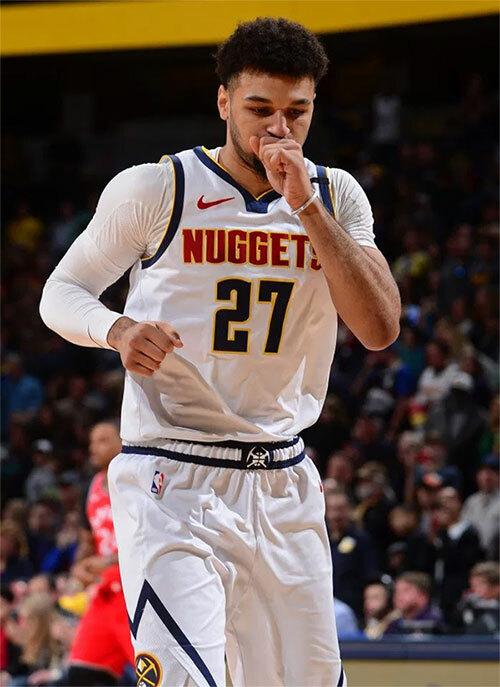 Cầu thủ người Canada đang thi đấu cho CLB bóng rổ Denver Nuggets tại giải NBA Mỹ. Ảnh: Sun.