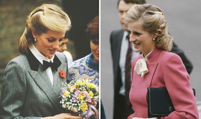 Kiểu tóc có tuổi thọ 3 tháng của Diana. Ảnh: UK Press.