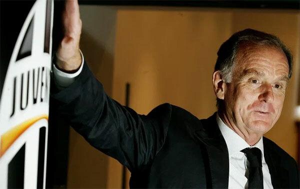 Cựu chủ tịch JuventusGiovanni Cobolli Gigli. Ảnh: The Sun.
