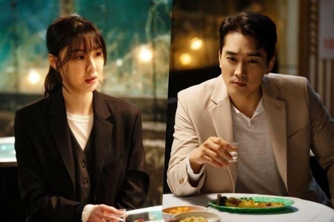 Seo Ji Hye và Song Seung Hun trong Shall We Eat Dinner Together.