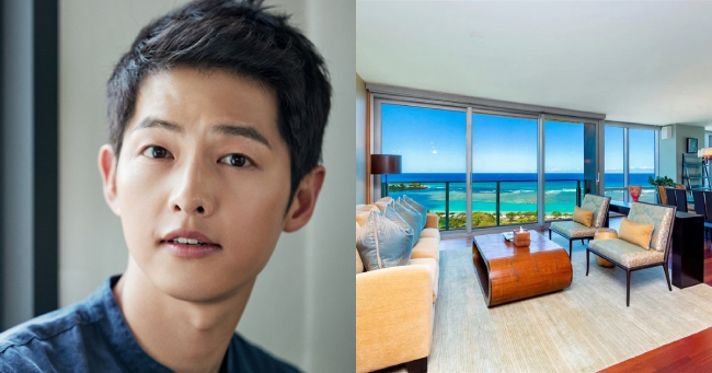 Song Joong Ki tậu nhà mới ở Hawaii.