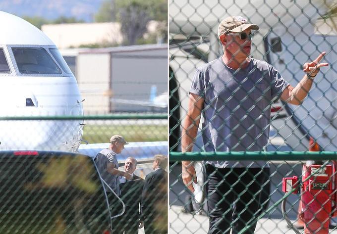 Nam diễn viên 63 tuổi trở về nhà nghỉ ngơi bởi dự án phim của ông đang phải tạm thời ngừng quay do dịch Covid-19 cũng lan rộng ở Australia.