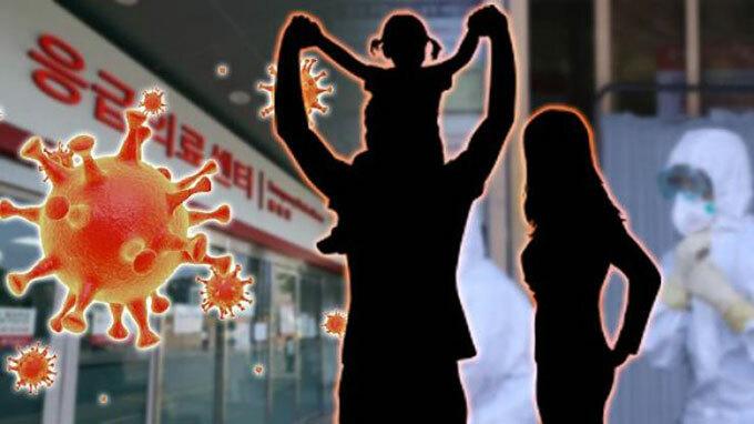Một gia đình bị tái nhiễm Covid-19 ở Hàn Quốc. Ảnh minh hoạ: Korea Times.