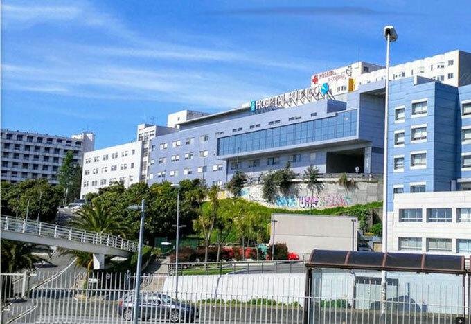 Bệnh viện Teresa Herrera ở thành phố, Tây Ban Nha. Ảnh: