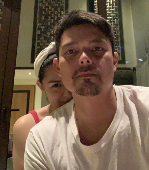 Vợ chồng Marian Rivera và Dingdong Dantes.