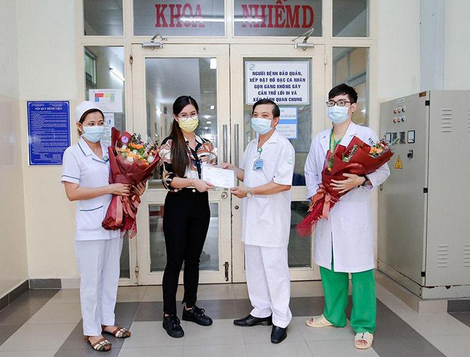 Tiên Nguyễn được bác sĩ cho xuất viện chiều 31/3.