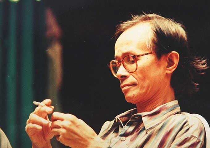 Cố nhạc sĩ Trịnh Công Sơn.