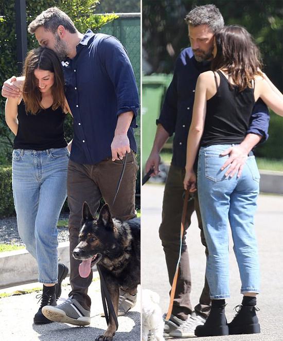 Trên đường phố, Ben và Ana không ngừng âu yếm nhau. Hai người như đôi sam quấn quýt suốt một tháng nay.