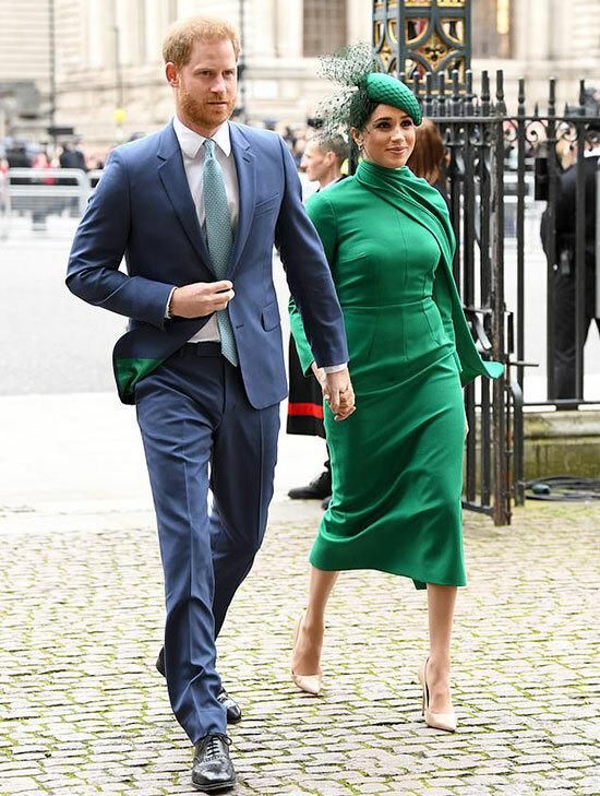Harry - Meghan sánh đôi tới dự ngày lễ của Khối thịnh vượng chung ở Tu viện Westminster - sự kiện cuối cùngtrước khi rút khỏi hoàng gia - hôm 9/3. Ảnh: PA.
