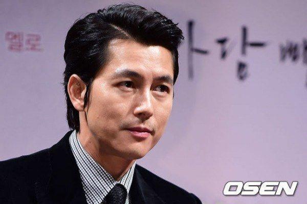 Tài tử Jung Woo Sung.