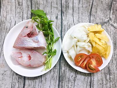 Canh cá điêu hồng nấu măng chua - 2