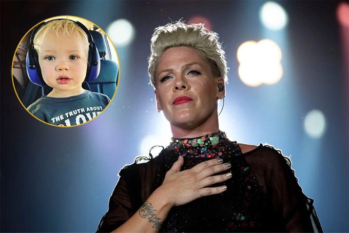 Pink lo lắng suốt ba tuần con trai bị nhiễm nCoV.