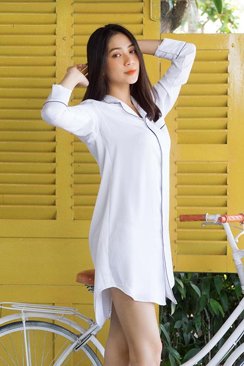 Bộ ảnh được thực hiện với sự hỗ trợ của nhiếp ảnh Thanh Giàu, người mẫu Phương Yến.