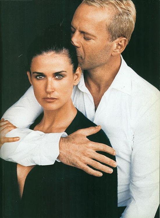 Demi và Bruce Willis từng là cặp đôi vàng Hollywood.