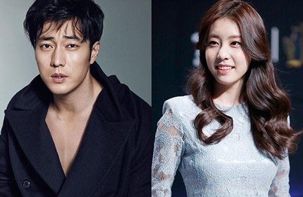 Cặp vợ chồng mới So Ji Sub, Jo Eun Jung của showbiz Hàn.