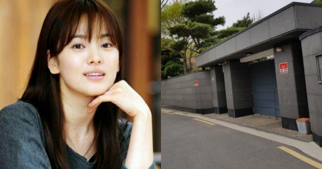 Ngôi nhà Song Hye Kyo rao bán.
