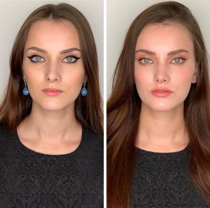8 cô gái chứng minh sự khác biệt giữa tự makeup và ra tiệm