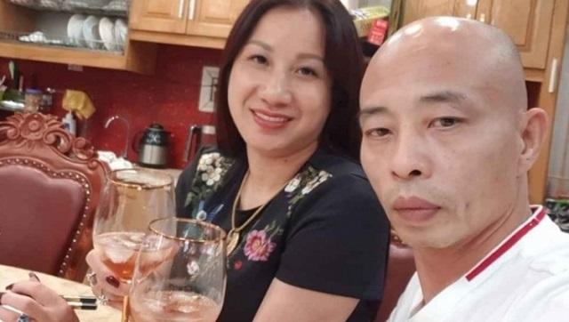 Vợ chồng đại gia Nguyễn Thị Dương. Ảnh Facebook.