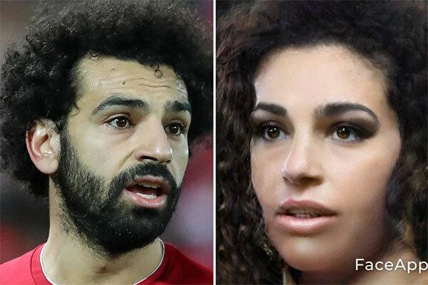Tiền đạo Salah của Liverpool thành cô gái dịu dàng.