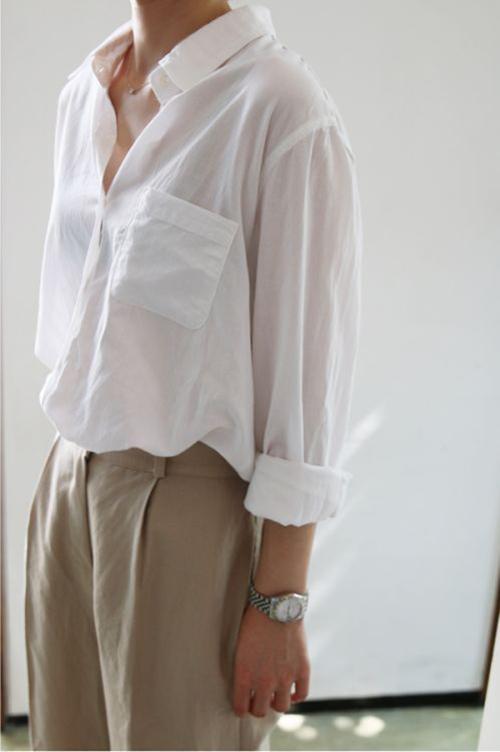 Vải xô, cotton Nhật, linen mỏng thường được chọn lựa để xây dựng nên các kiểu áo mùa hè.