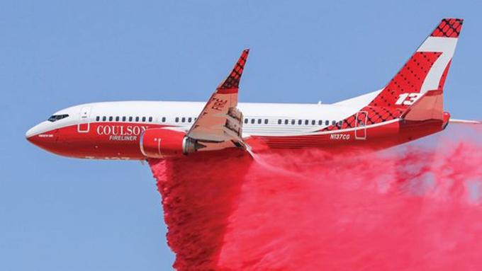 chiếc 737 Large Air Tanker giữ vai trò chủ chốt trong chữa cháy rừng Australia trong năm nay.