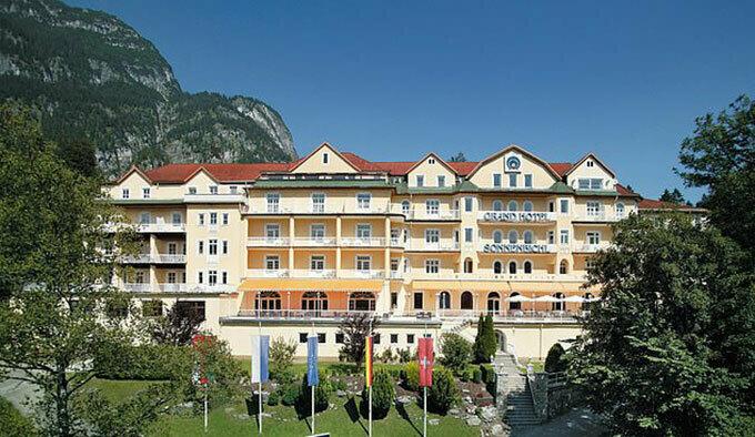 Khách sạn Grand Sonnenbichl ở Bavaria, Đức. Ảnh: FB.
