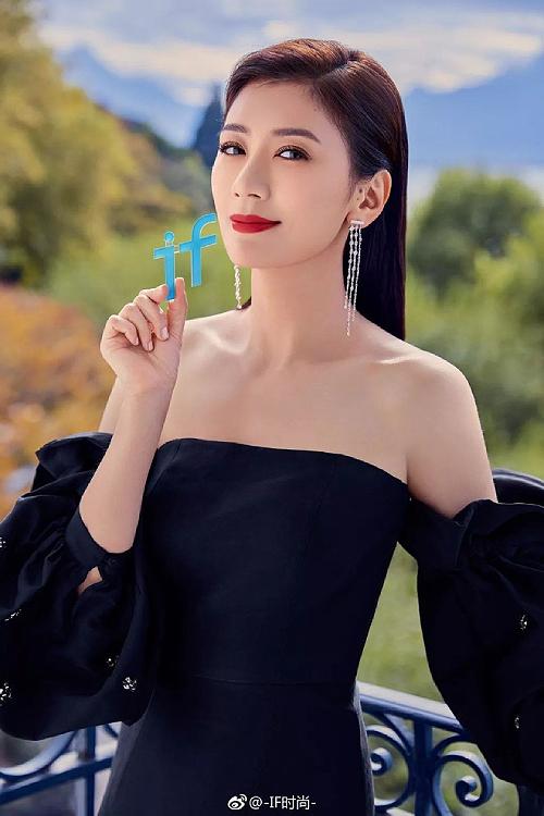 Diễn viên Giả Tịnh Văn.
