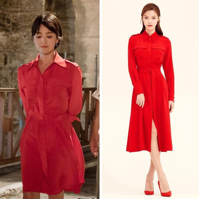 Song Hye Kyo chỉnh sửa hàng hiệu để hợp dáng trong Encounter - 1