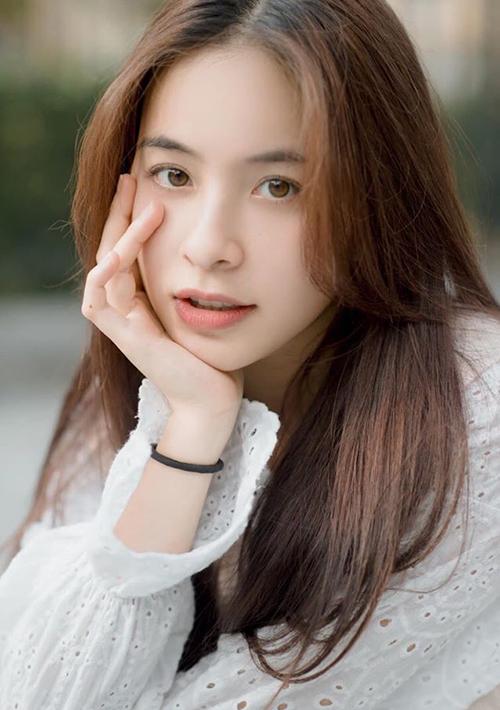 Nhan sắc đời thường của Trần Vân.