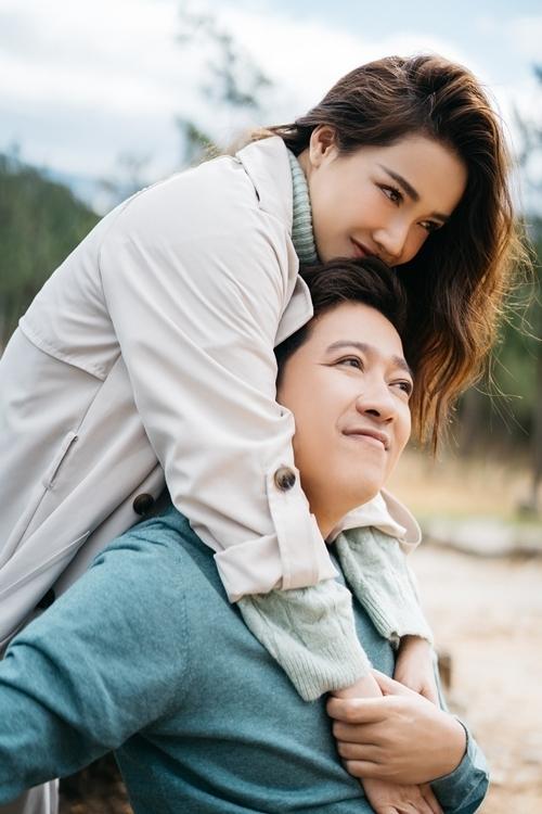 Từ ngày kết hôn, vợ chồng Nhã Phương - Trường Giang lúc nào cũng ngọt ngào.
