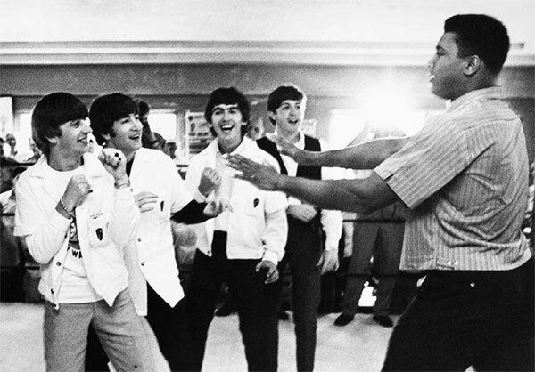 Ban nhạc lừng danhThe Beatles gặp mặt huyền thoại Ali (ảnh 10).