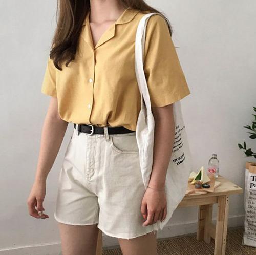 Short jeans cũng có nhiều màu sắc trang nhã để phái đẹp thỏa sức mix đồ dạo phố trong những ngày nóng.
