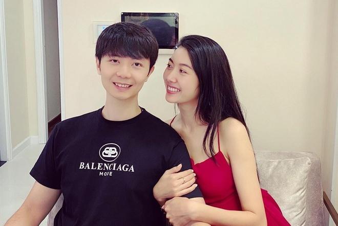 Thúy Vân và bạn trai Nhật Vũ.
