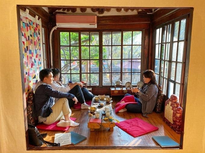 Tiệm trà dành cho giới thượng lưu trong Thế giới hôn nhân - 8
